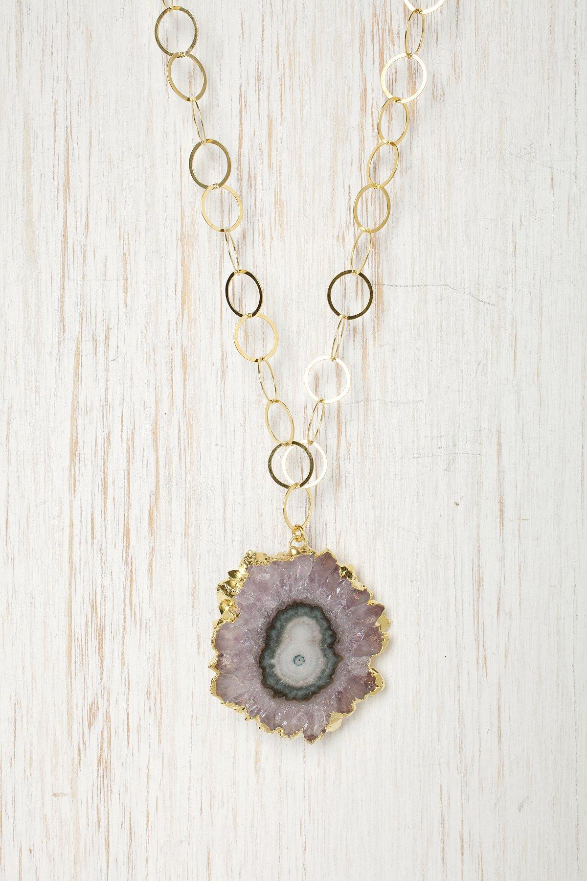 Earthen Stone Necklace
