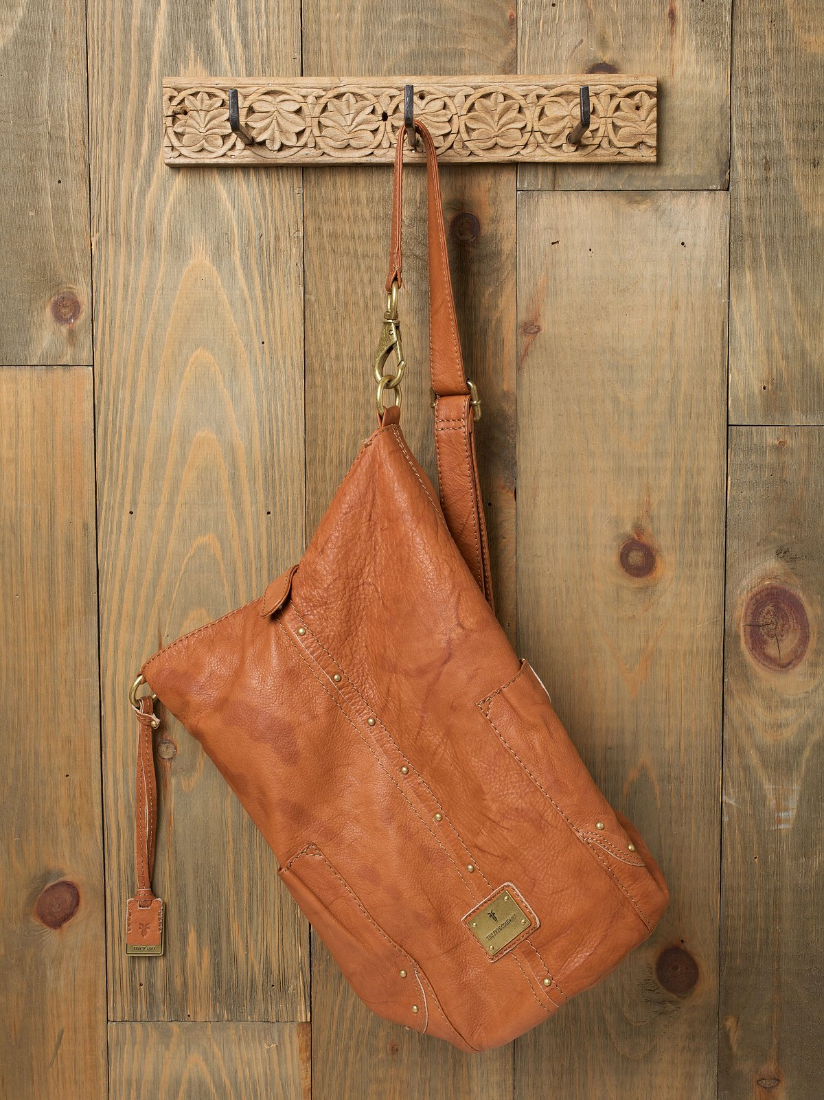 Frye Leather Sling Handbag