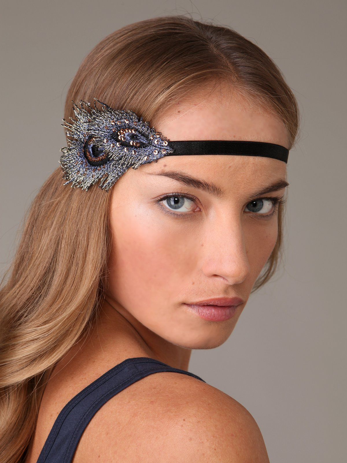 Jasmine Feather Headband