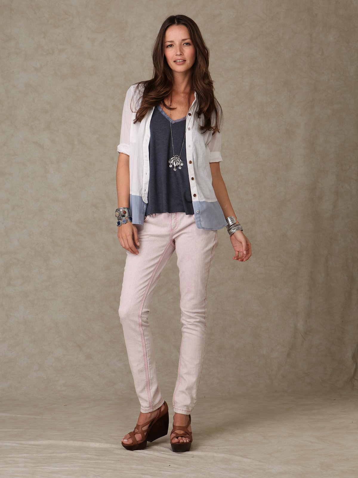 FP Super Skinny Cotton Candy Jeans