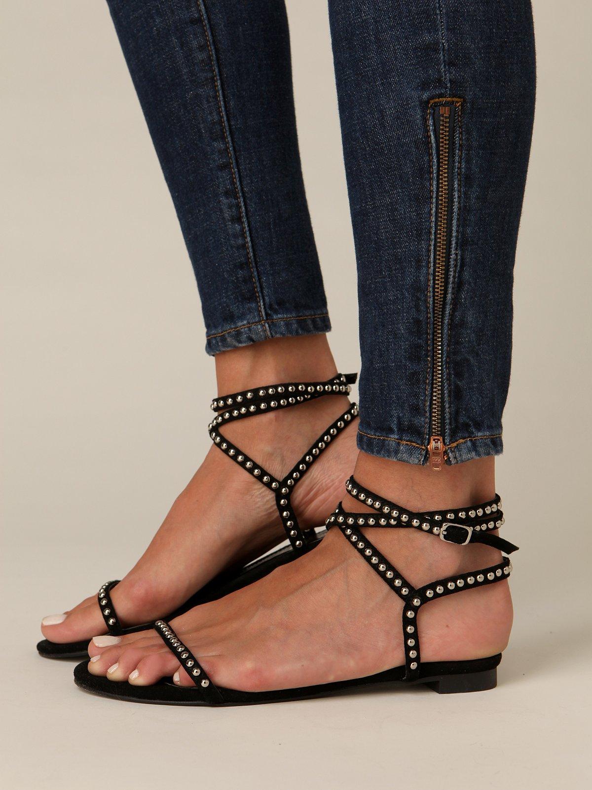 Greco Wrap Sandal