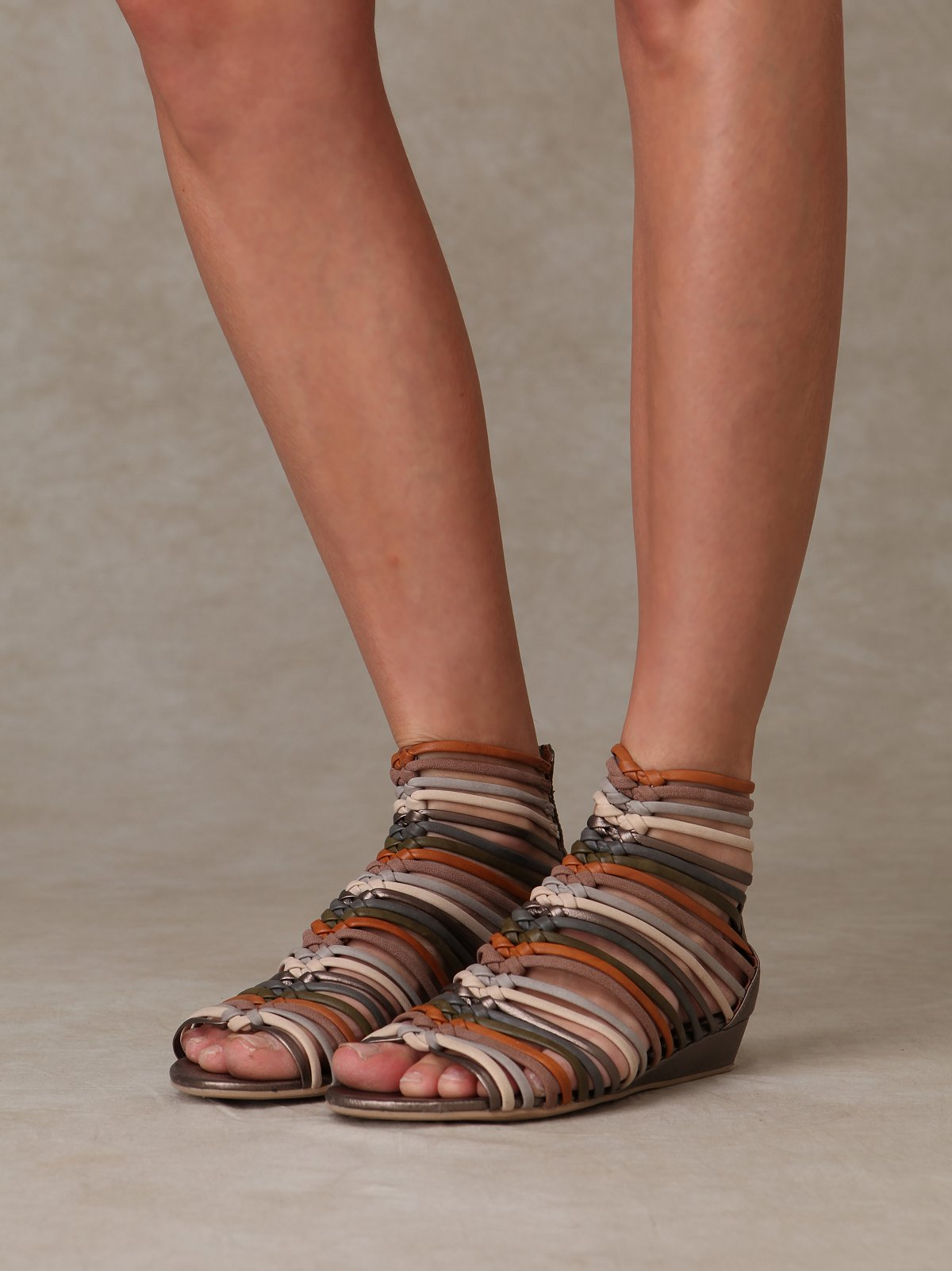 Fishtail Braid Sandal