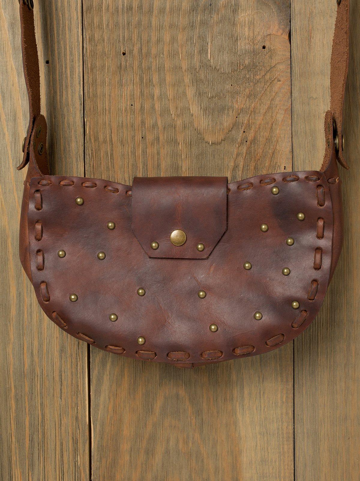 Studded Crescent Bag