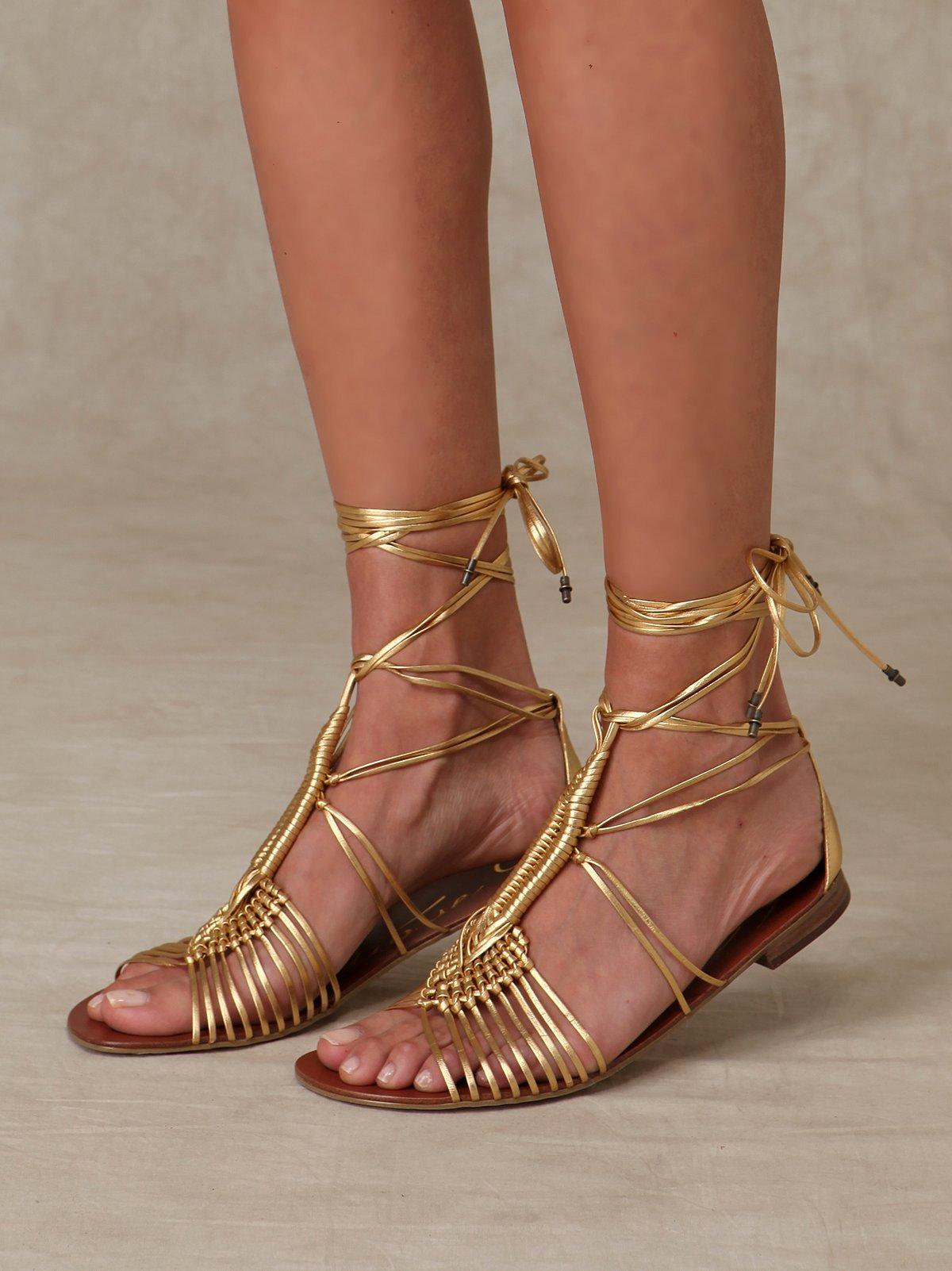 Pye Wrap Sandal