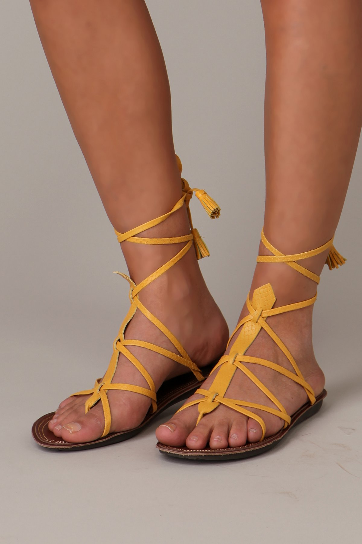 Libia Wrap Sandal