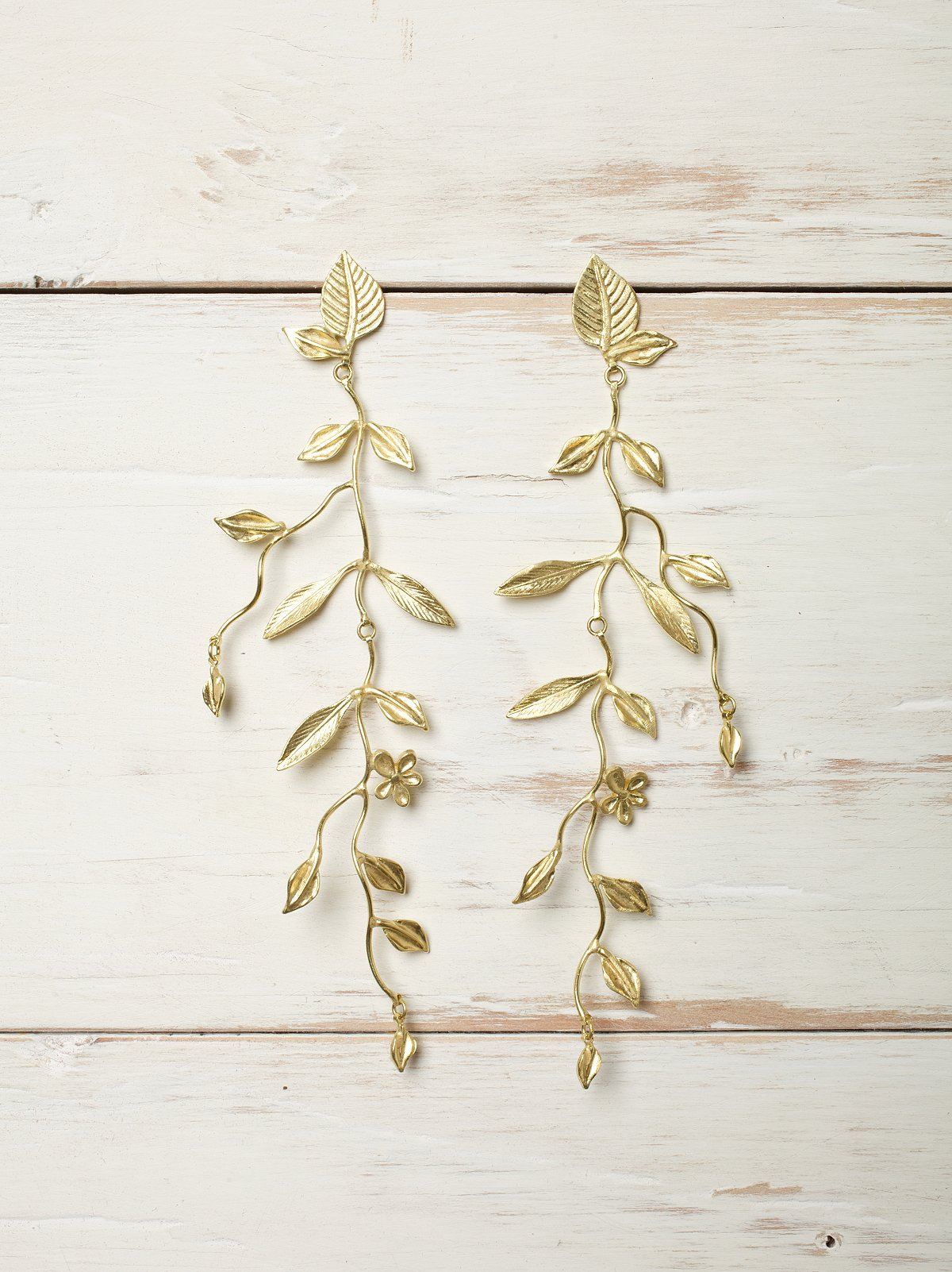Long Vine Earring