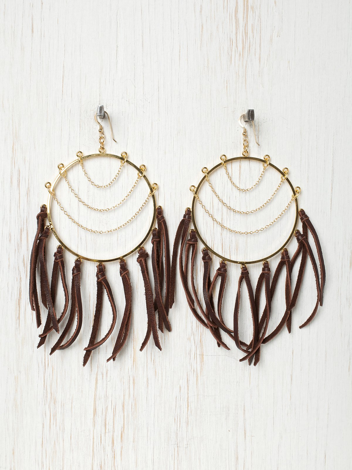 Fringe Circles Earrings