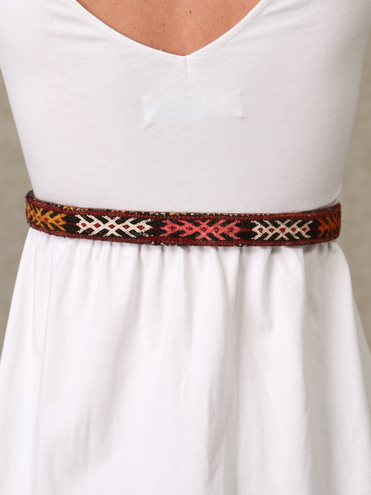 Woodland Leather Tipped Waist Belt