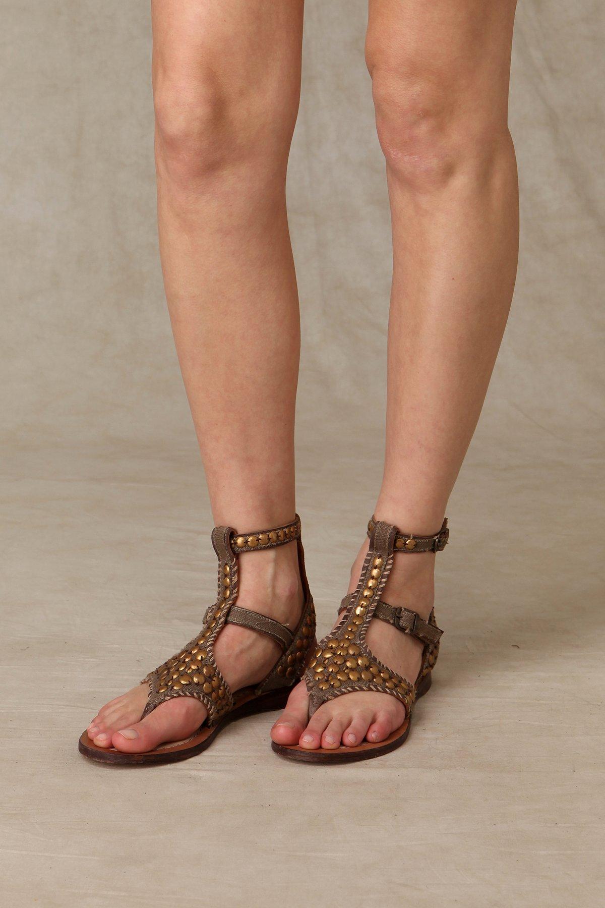 Canvas Stitch Sandal