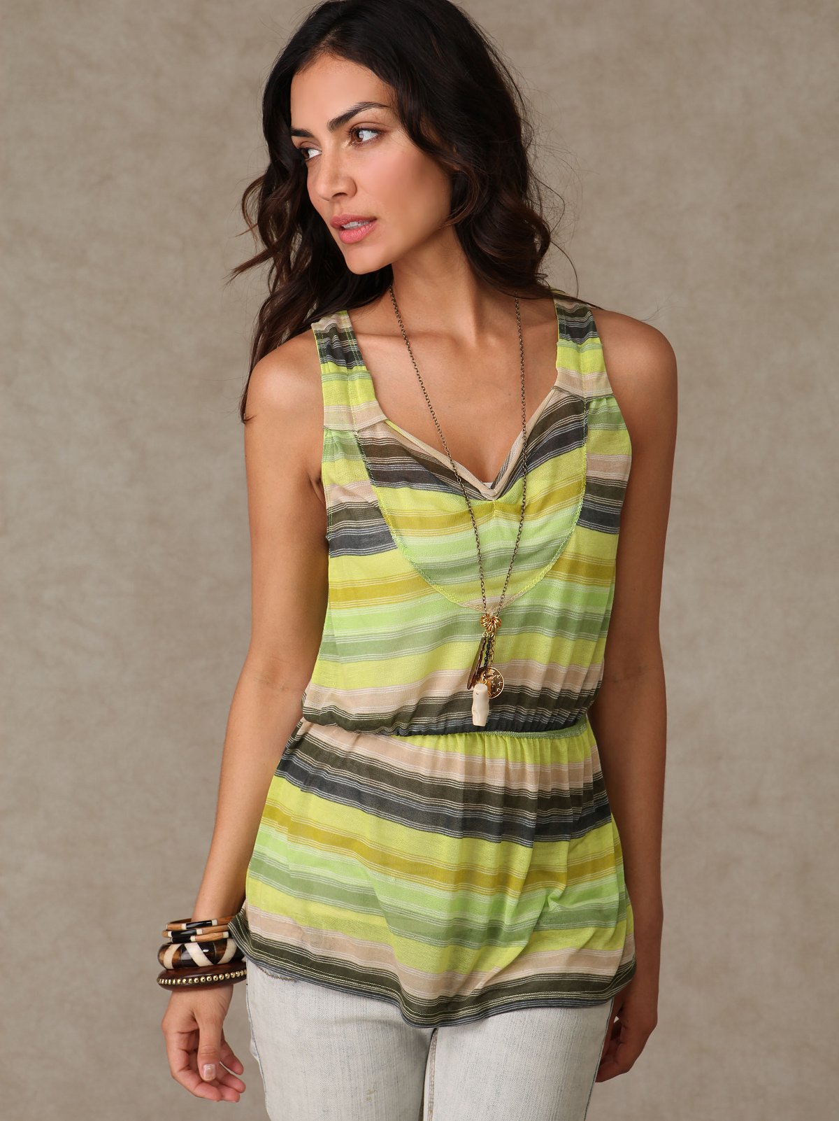 Super Stripe Tank