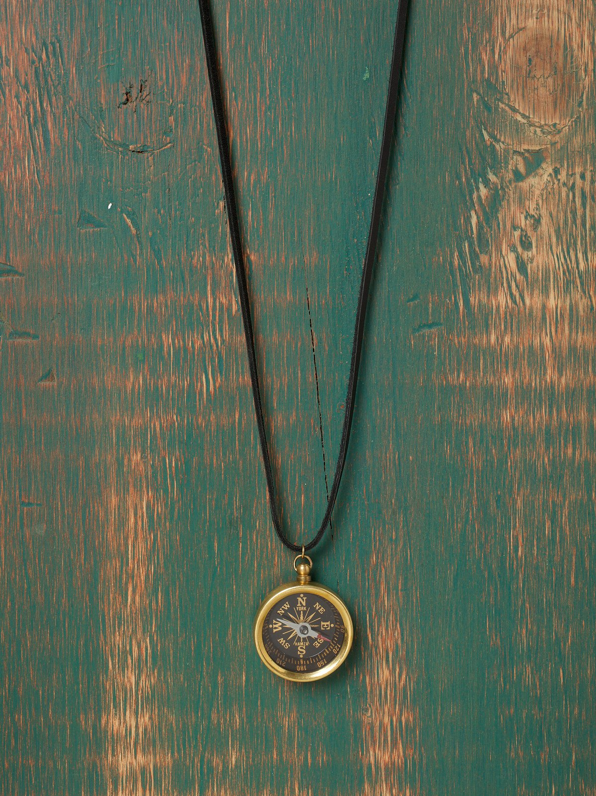 Suede & Pendant Layering Necklace