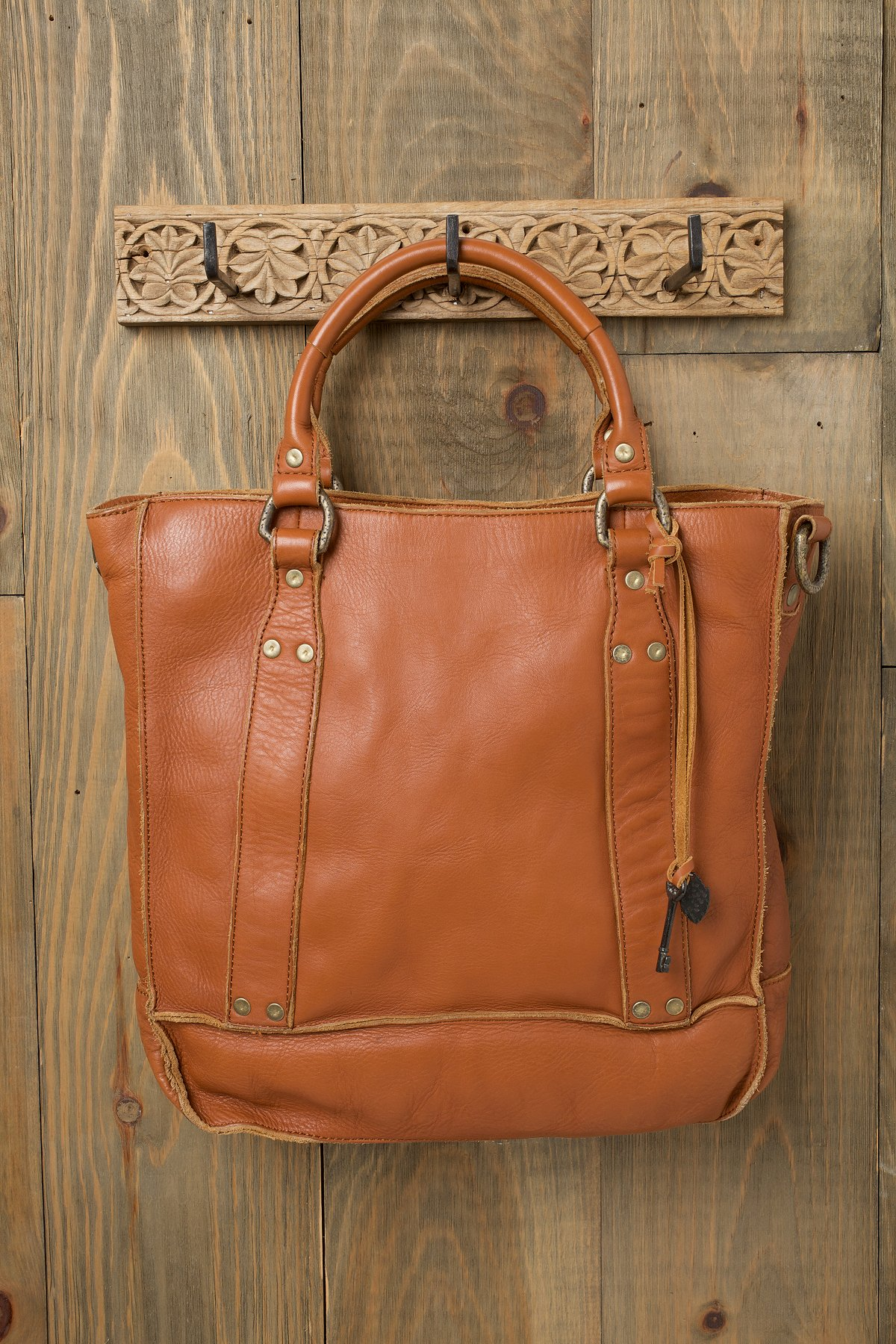 Starter Leather Tote