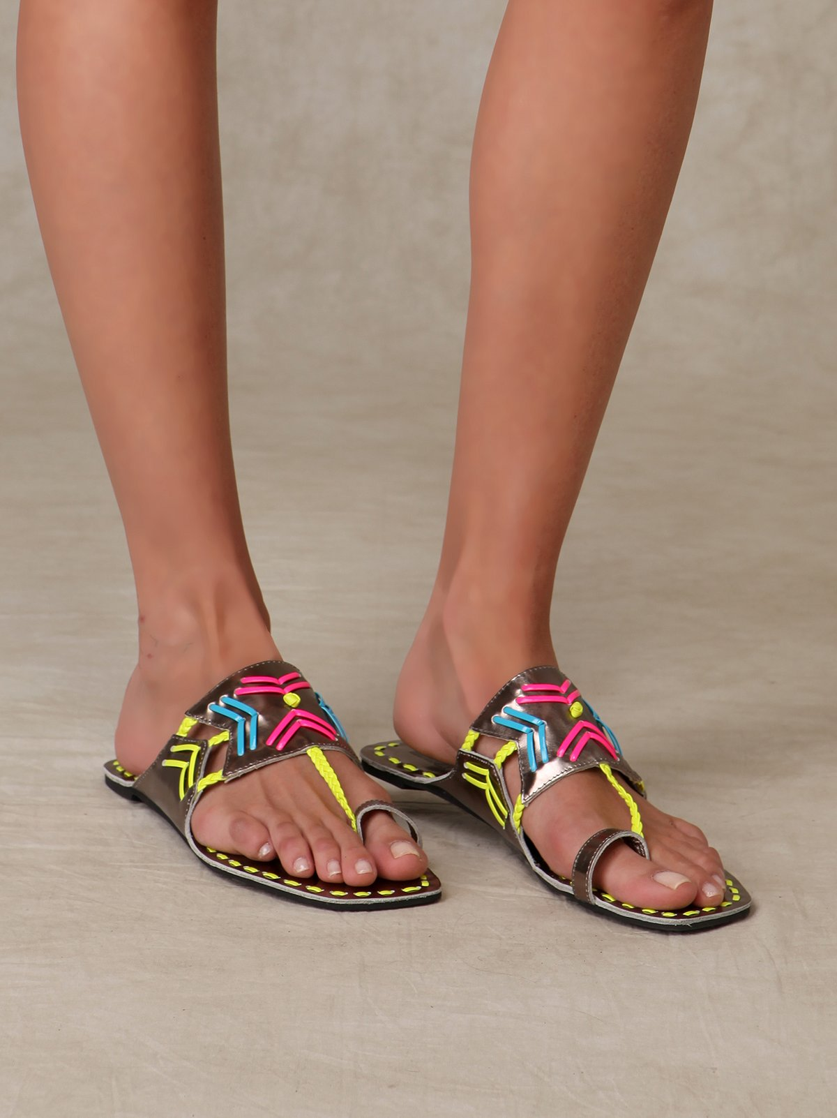 Stitch Sari Sandal