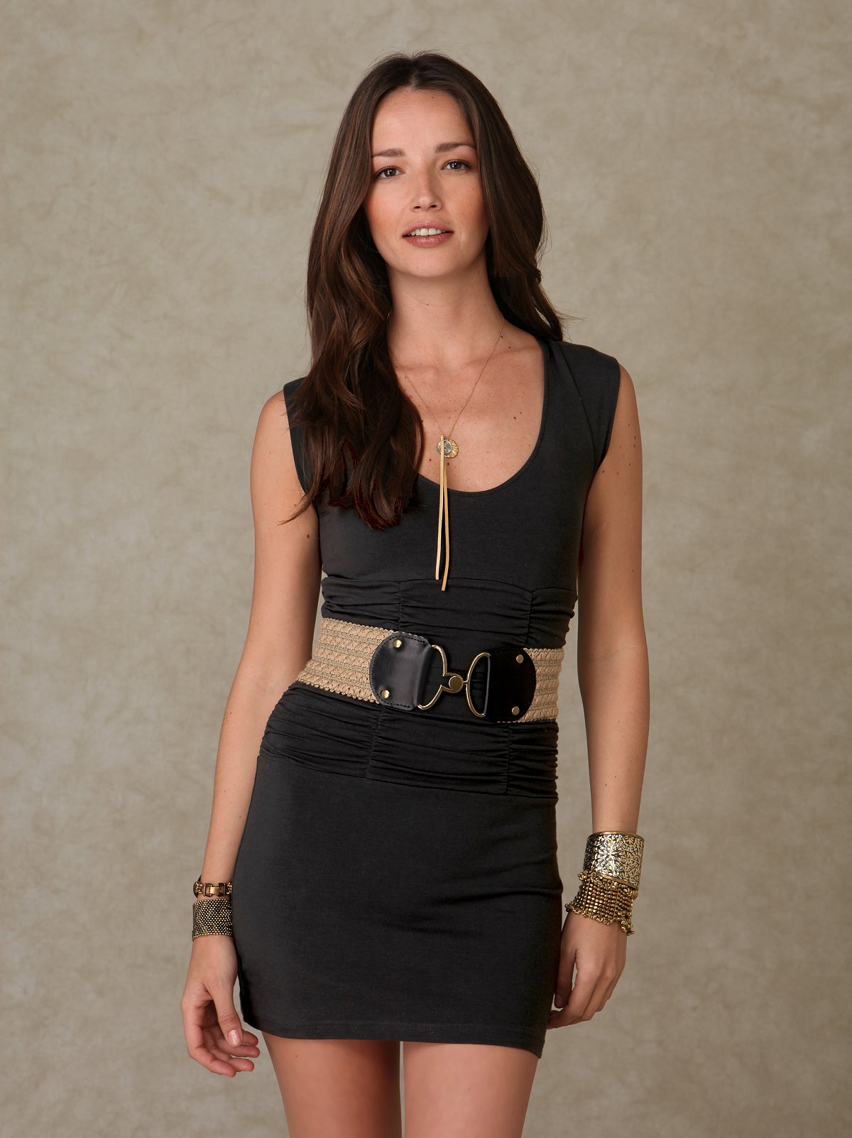 Vavoom Vneck Ruched Tunic