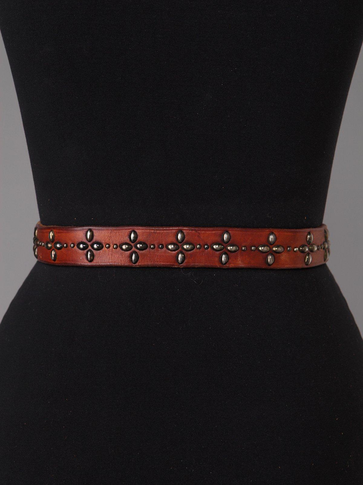 Vintage Studded Hip Belts