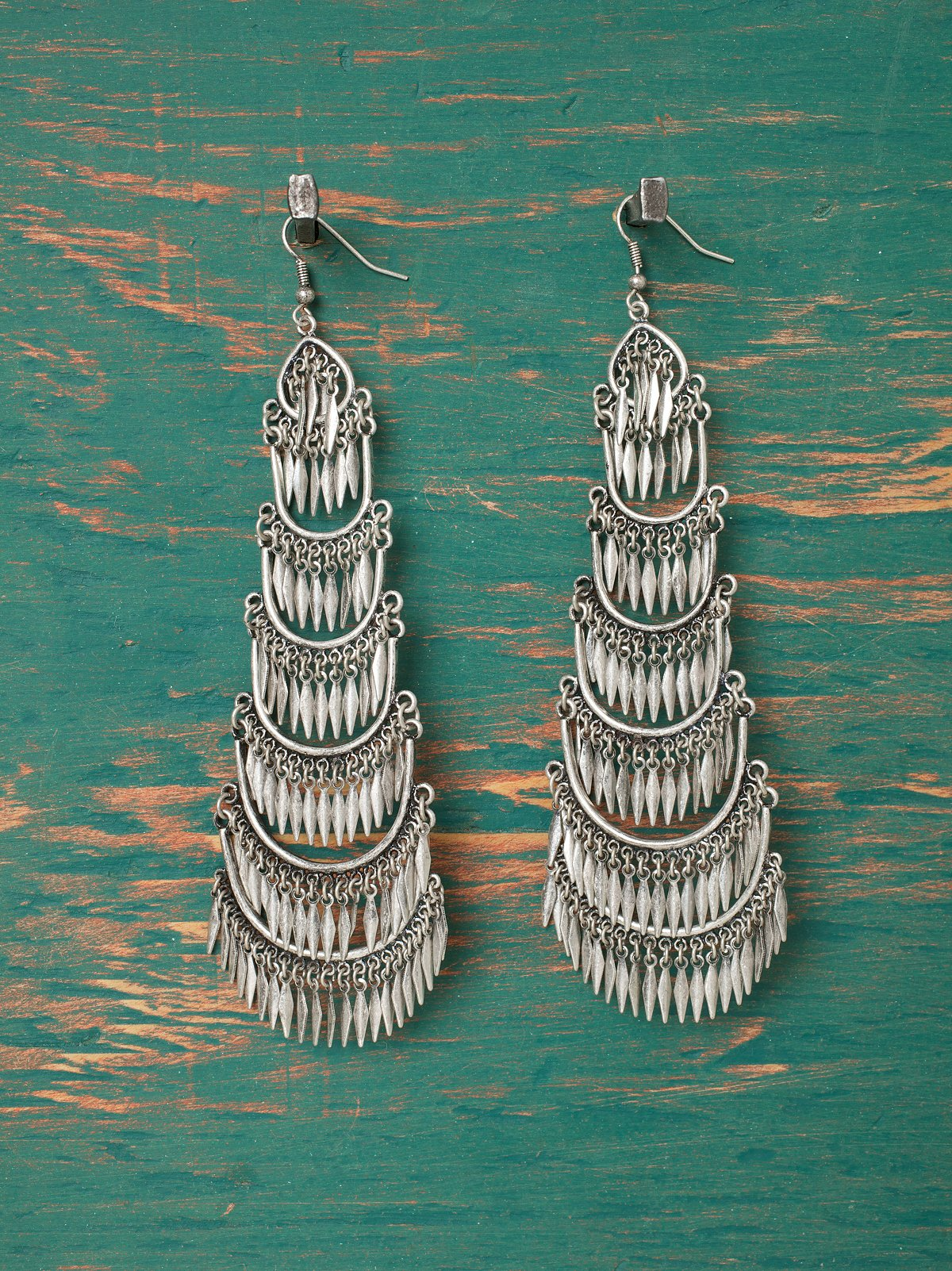 Long Moonshake Earrings