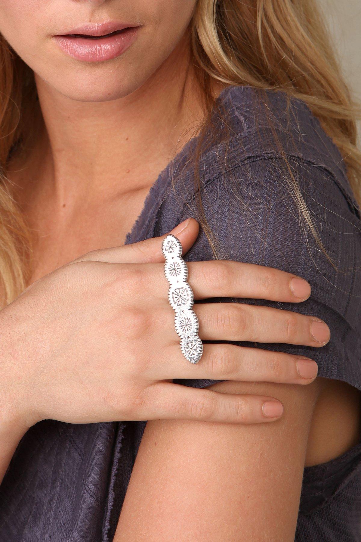 Symbols Knuckle Ring