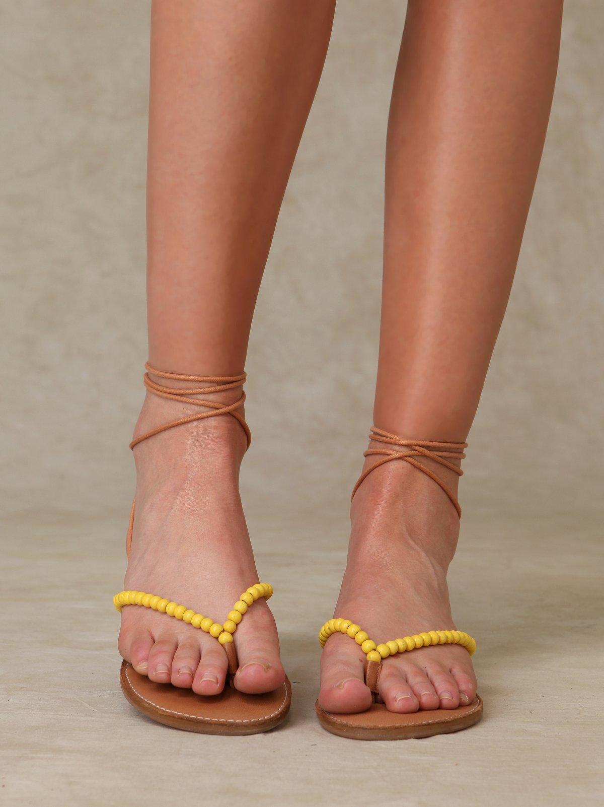 North Beach Wrap Sandal