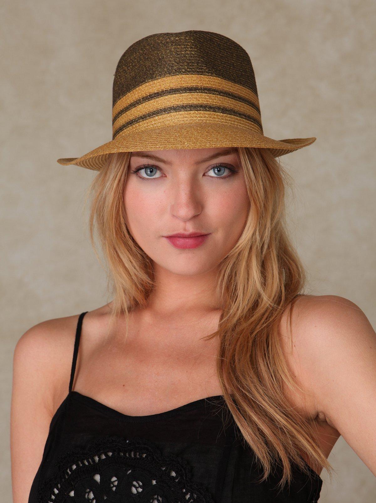 Chloe Straw Fedora