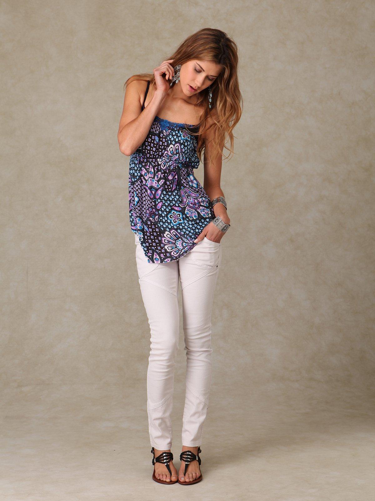 Fp Seamed Skinny Jean
