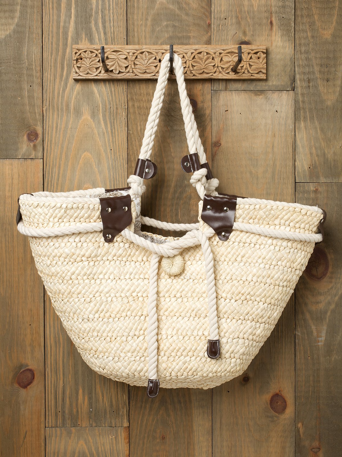Straw & Rope Tote