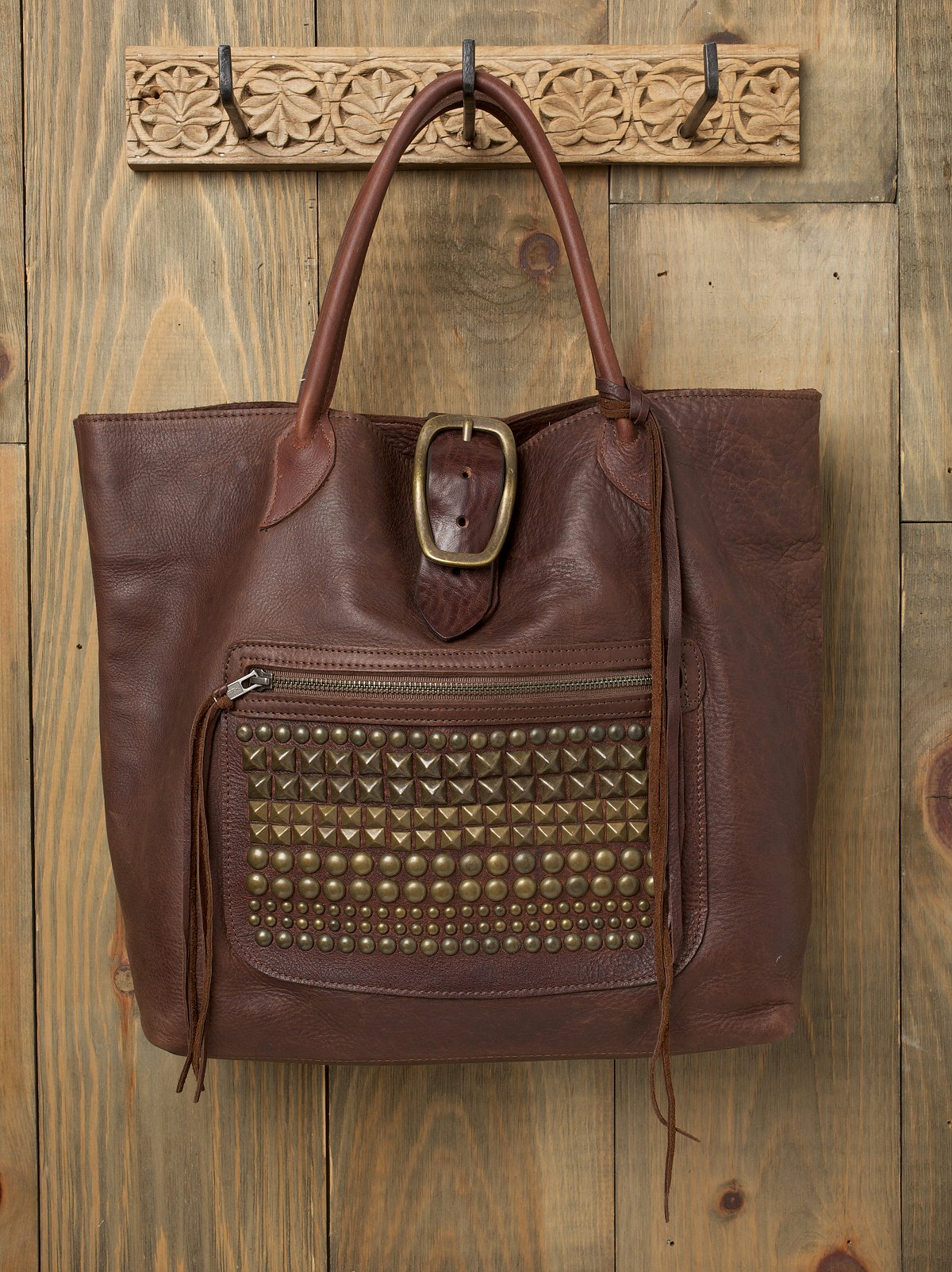 Leather Rancher Tote