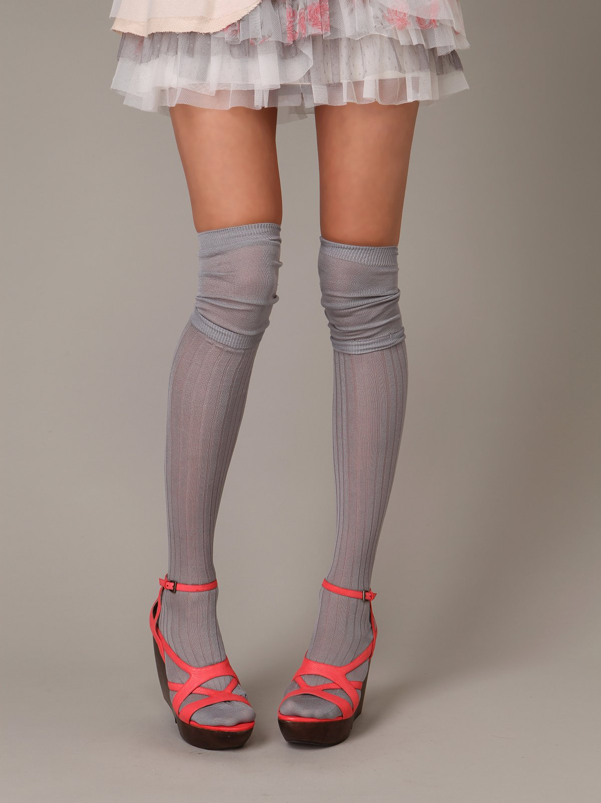Leona Layered Tall Sock