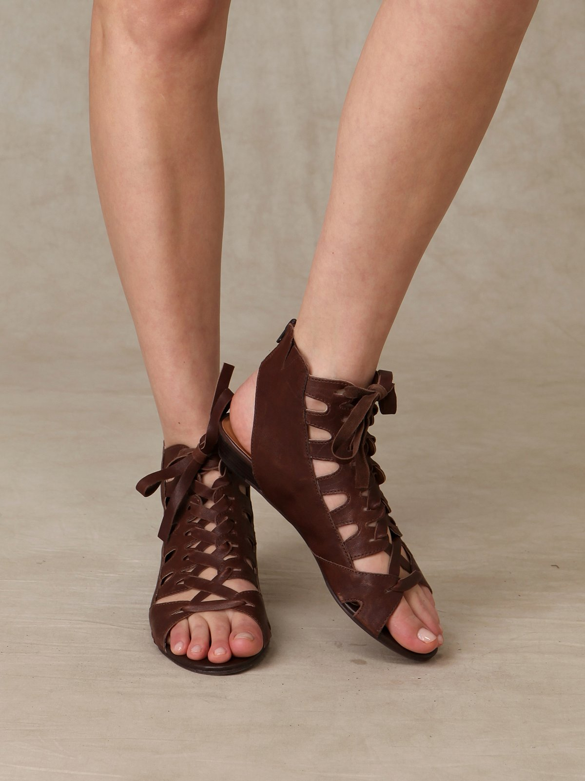 Keena Lace Up Sandal