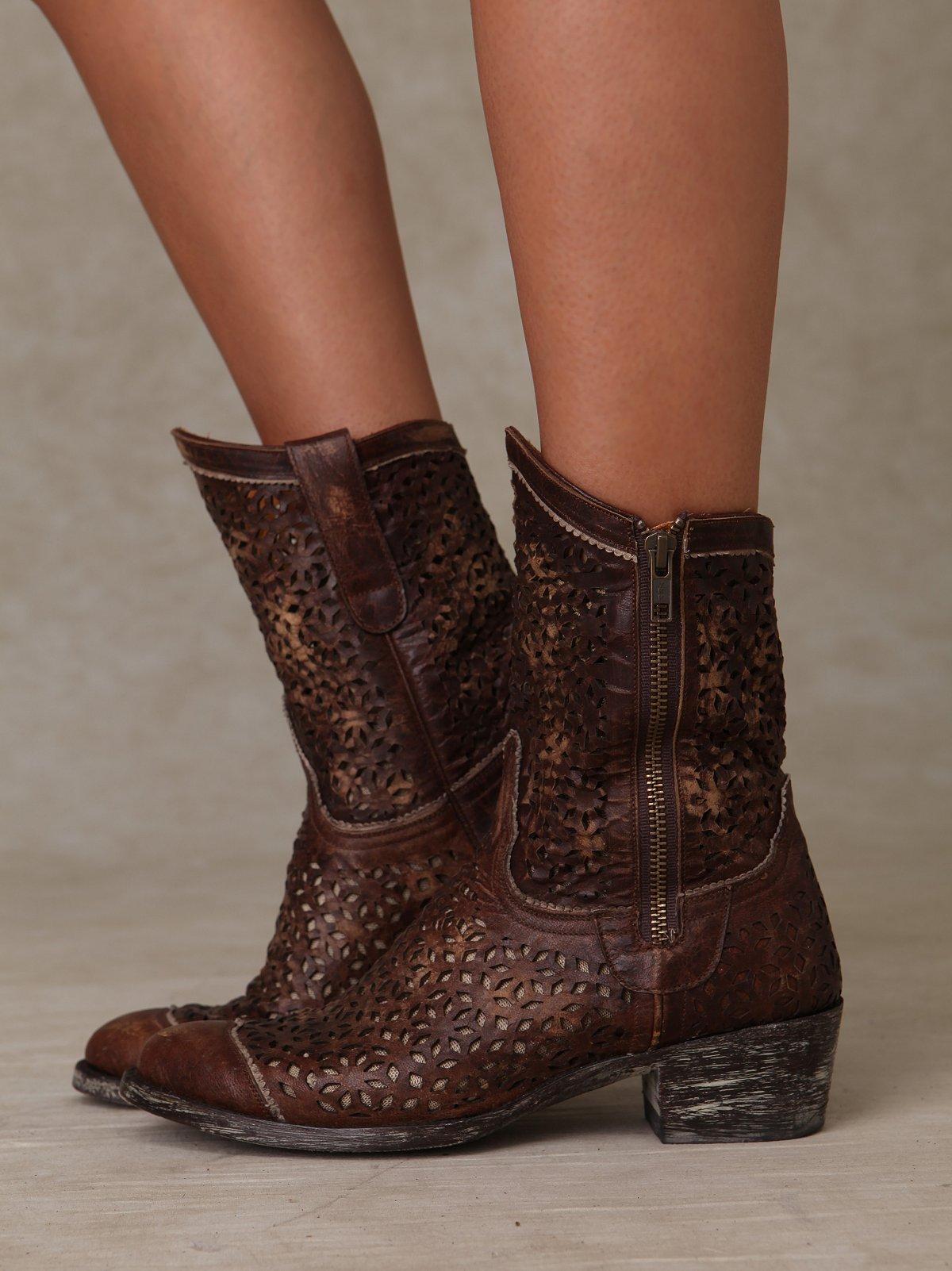 Eyelet Boot