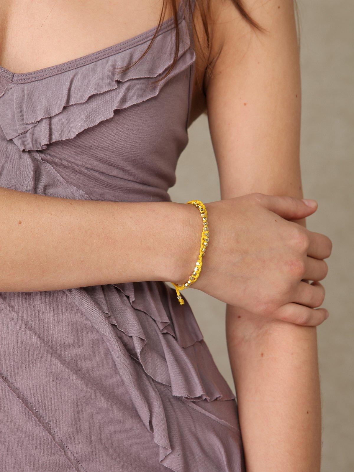 Shashi Golden Nugget Bracelet