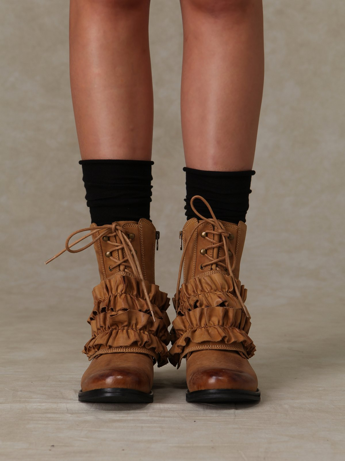All Ruffle Field Boot