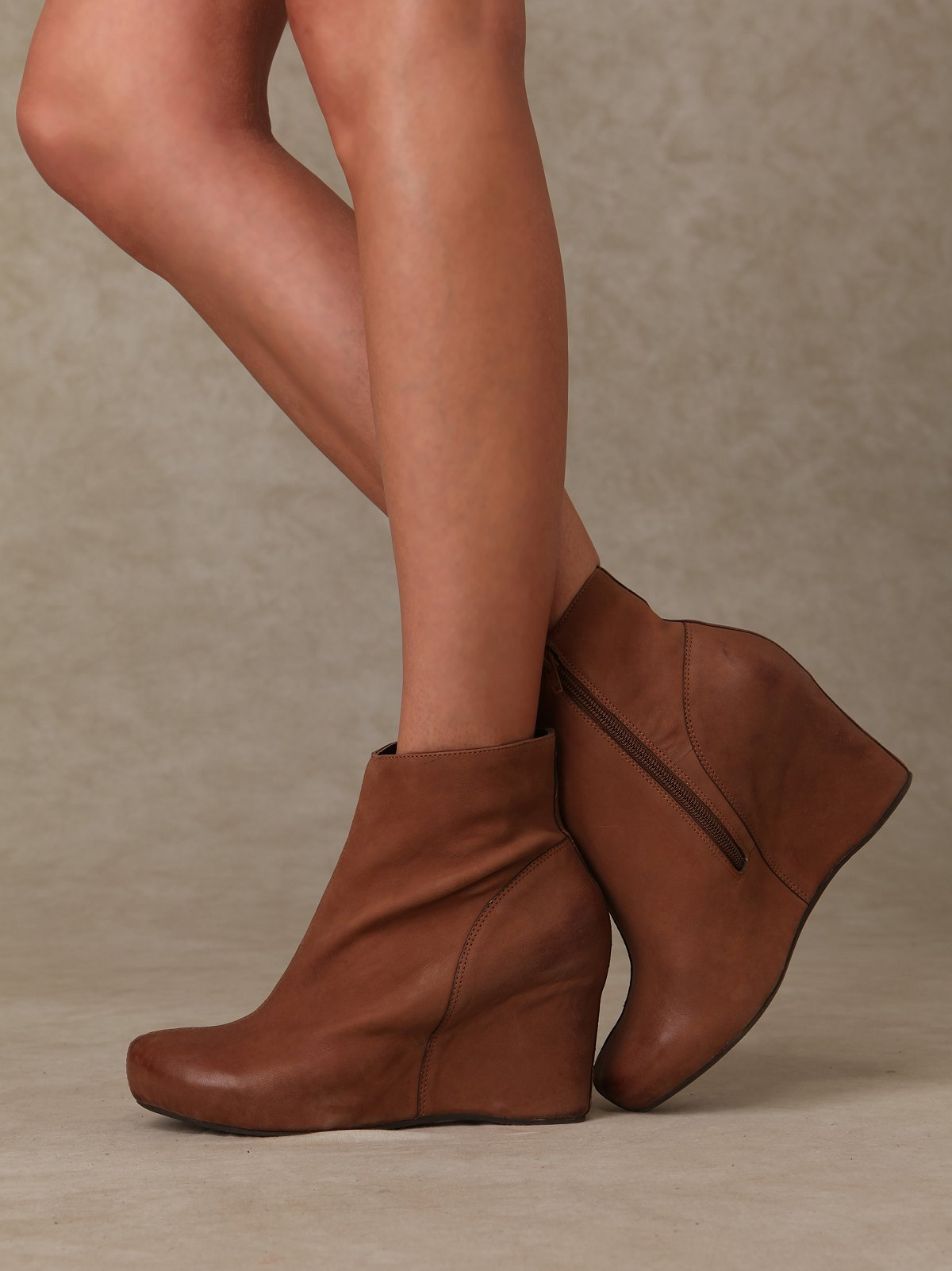 Covered Wedge Bootie