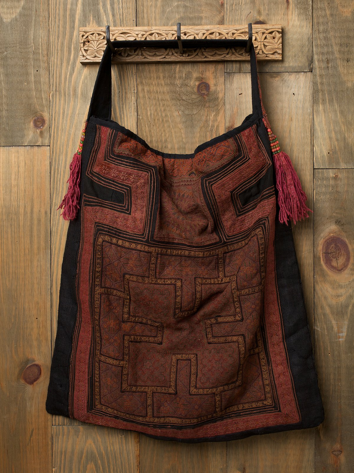 Hill Tribe Embroidered Bag