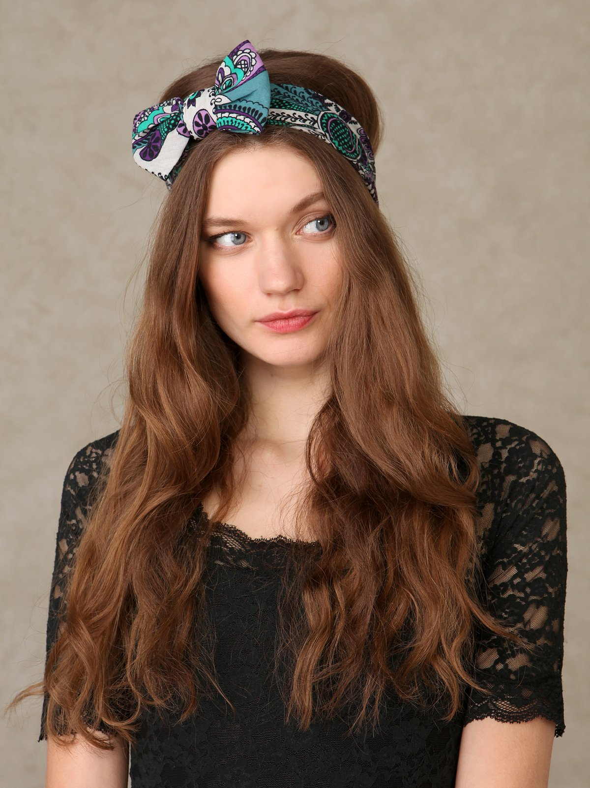 Bandana Bow Headband