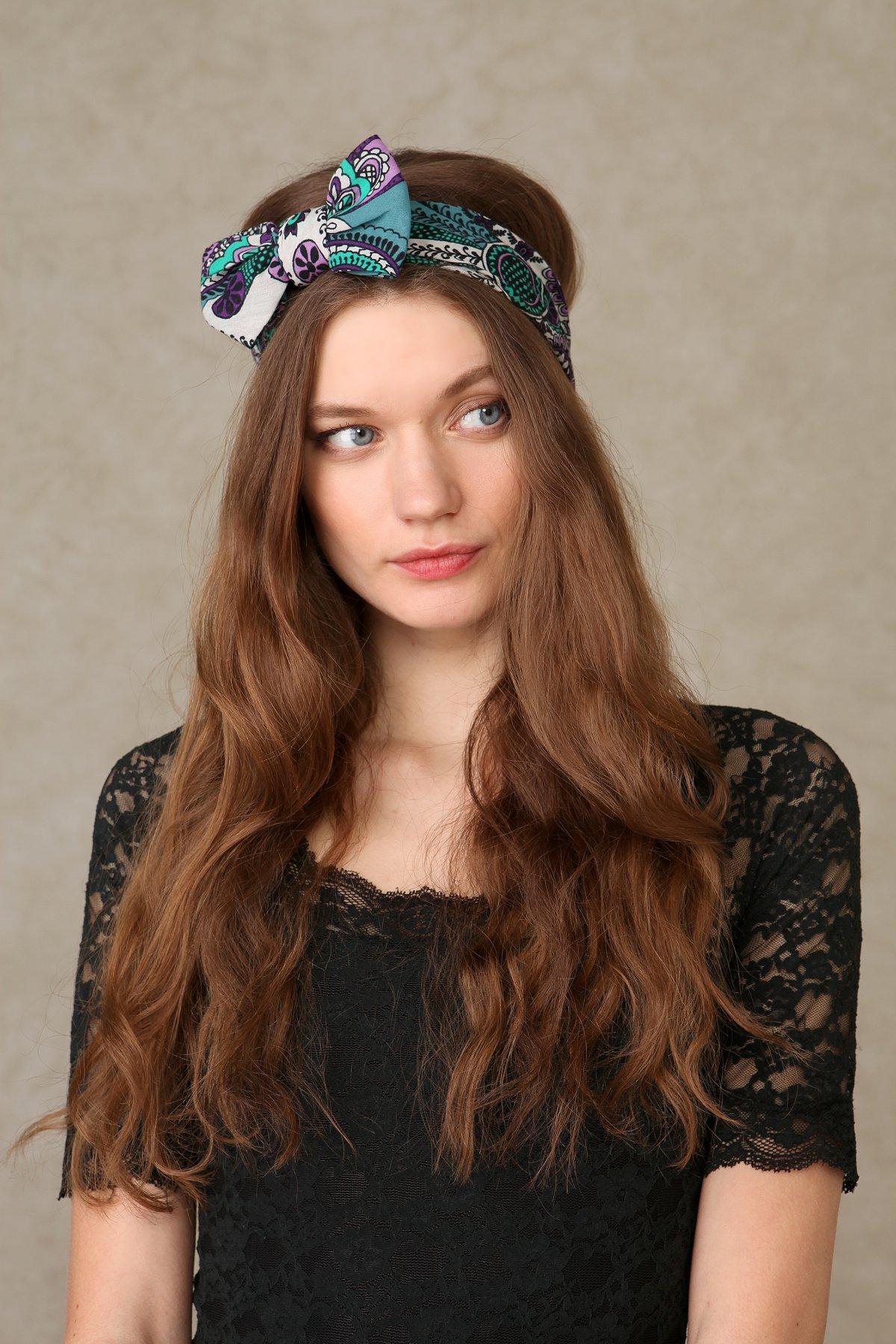 Bandana Bow Headband