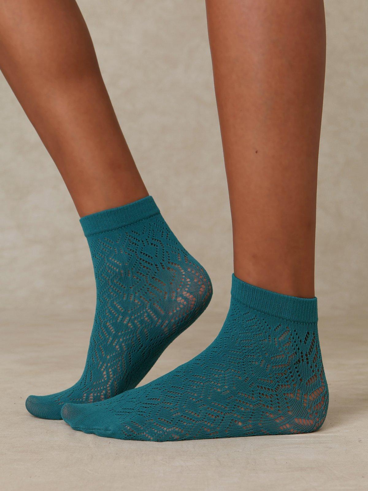 Pointelle Anklet