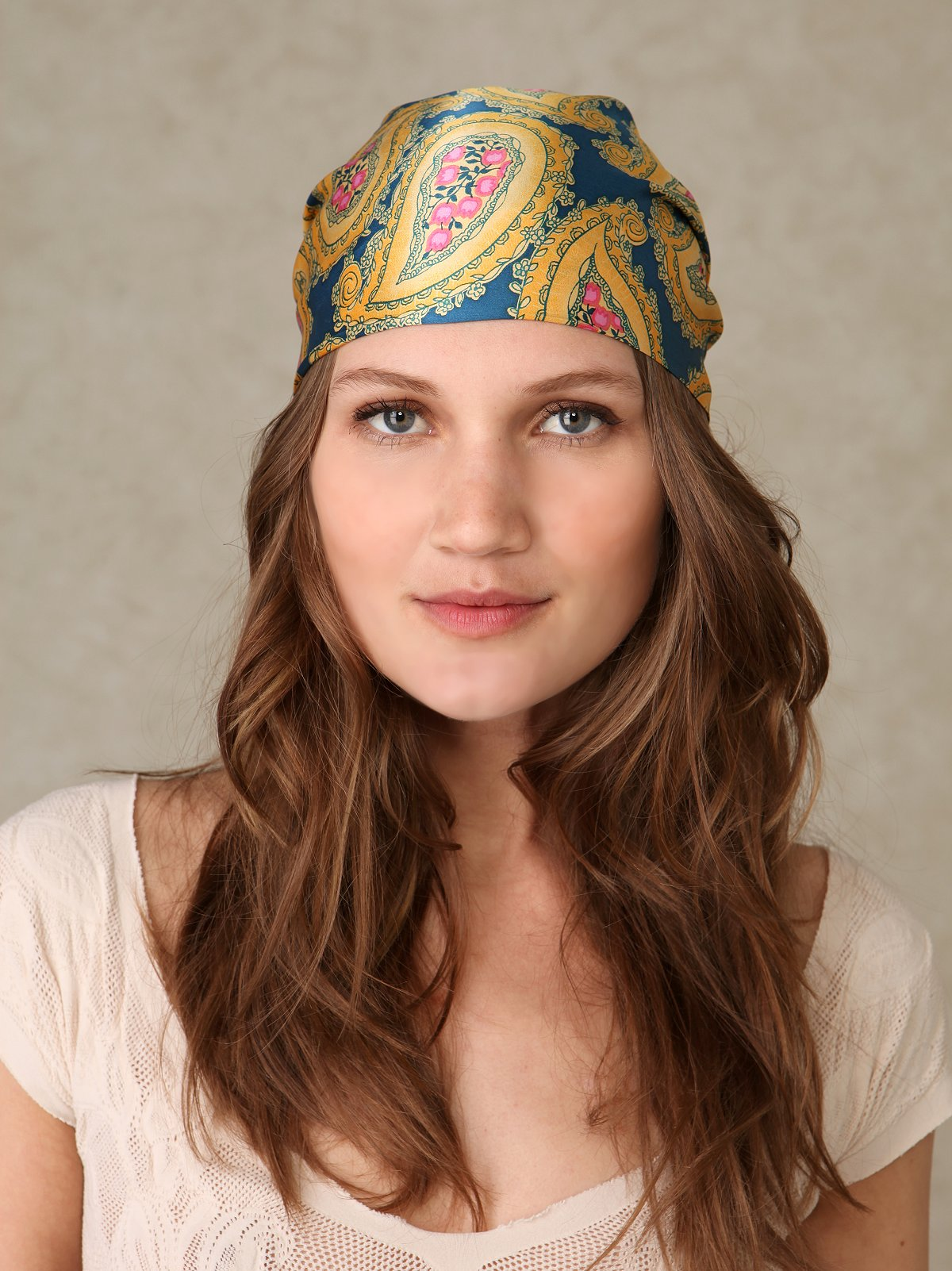Paisley Printed Headscarf