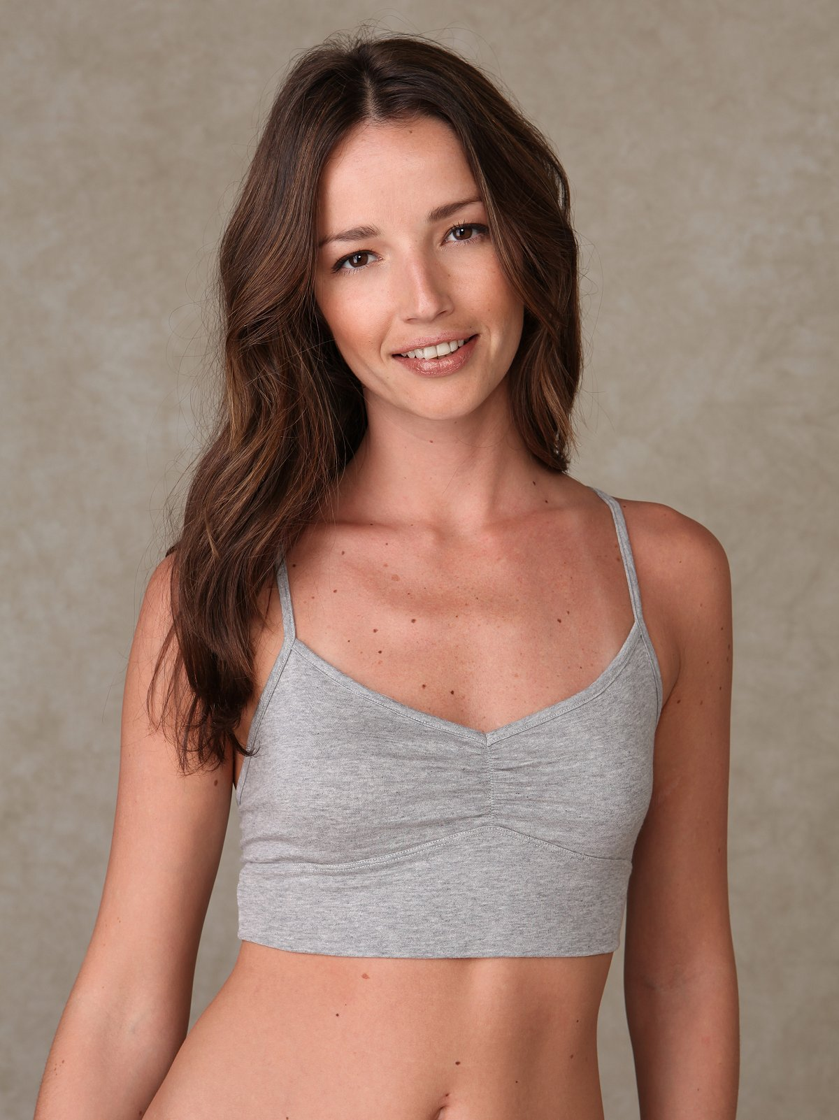 Heathered Sporty Bra