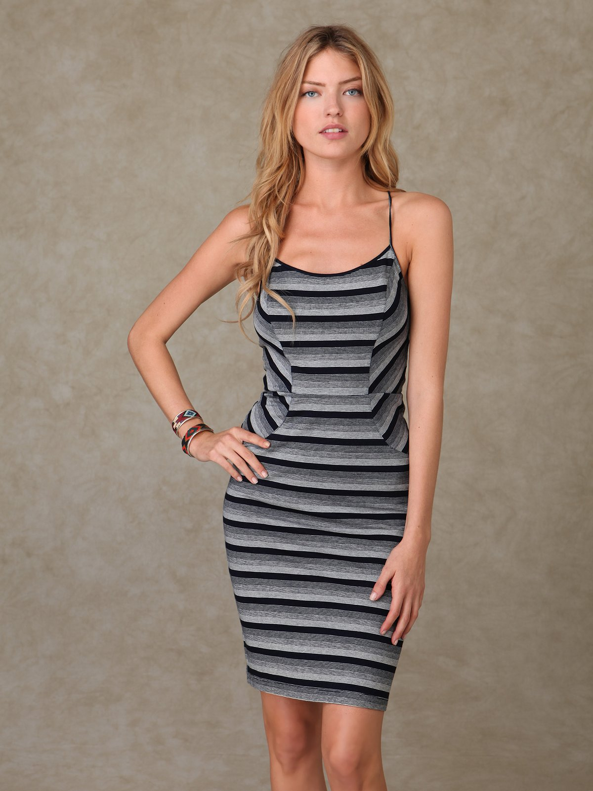 Dinner Time Tieback Dress