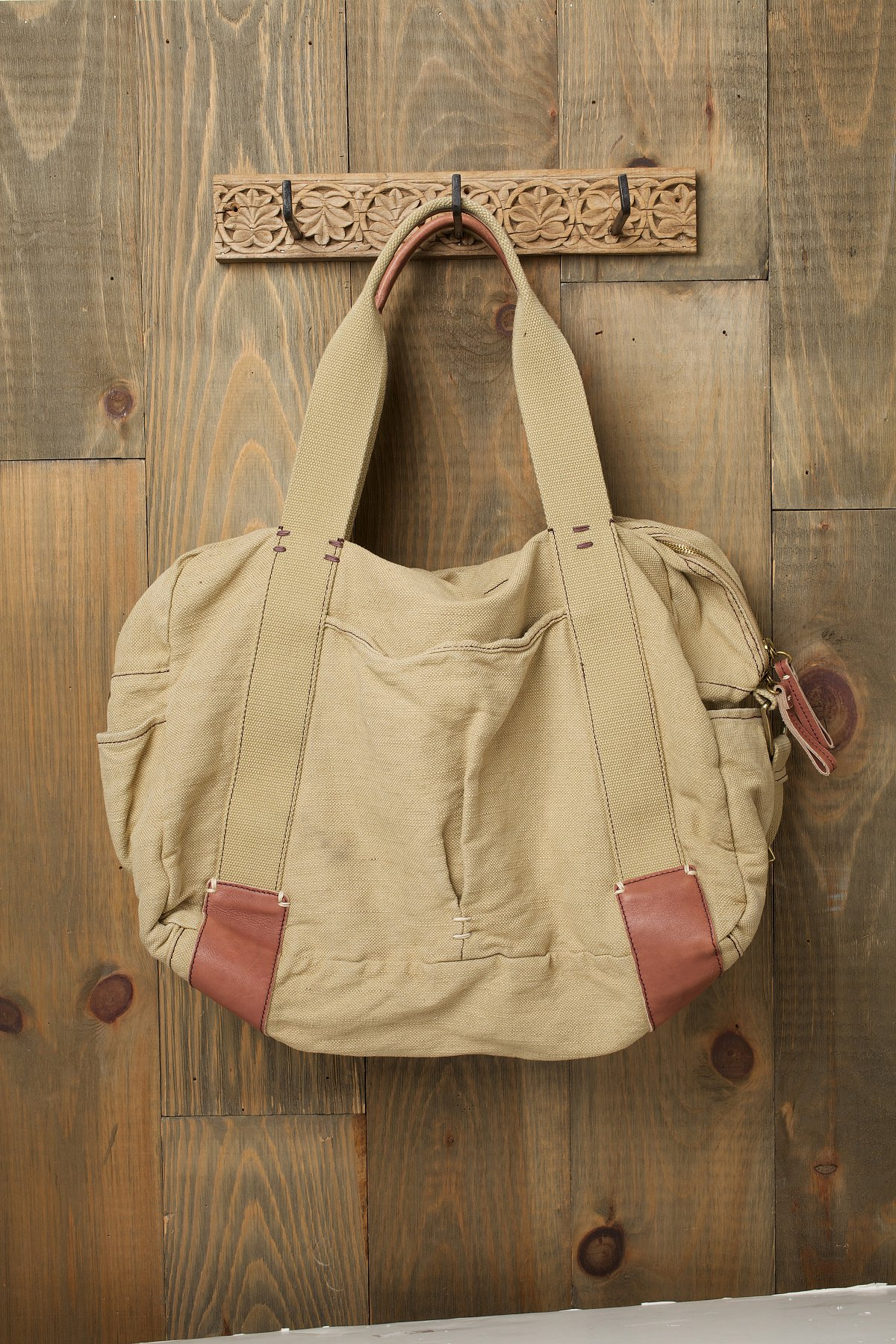Washed Canvas Weekender
