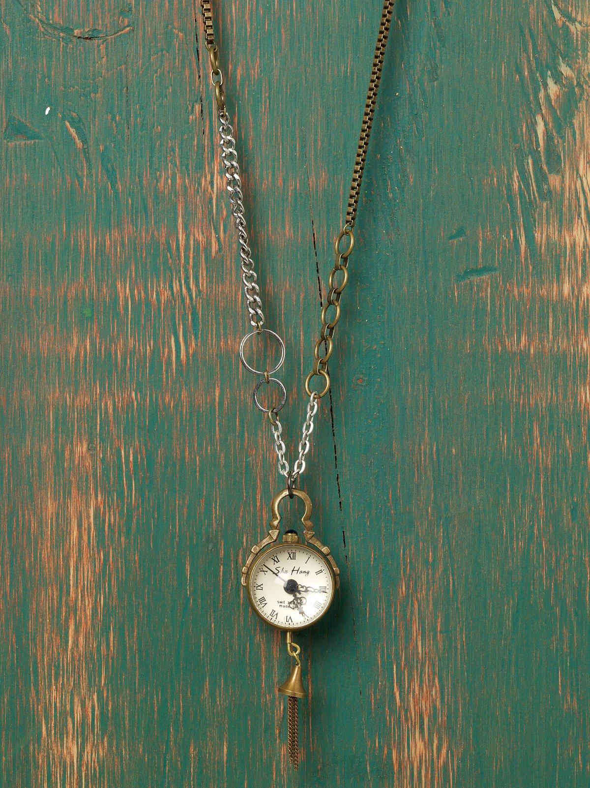 Time in A Bubble Necklace