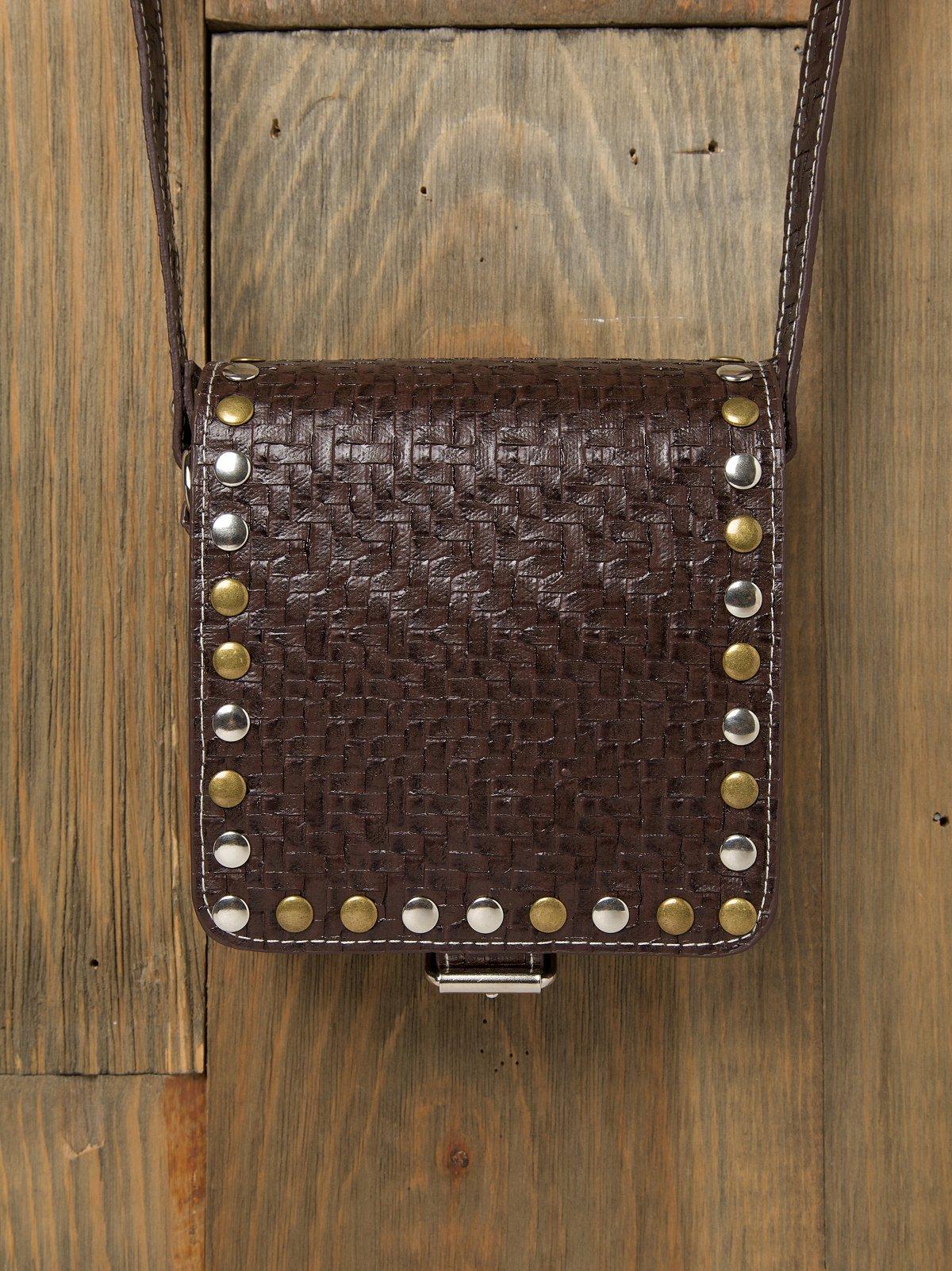 Doub's Woven Crossbody Bag