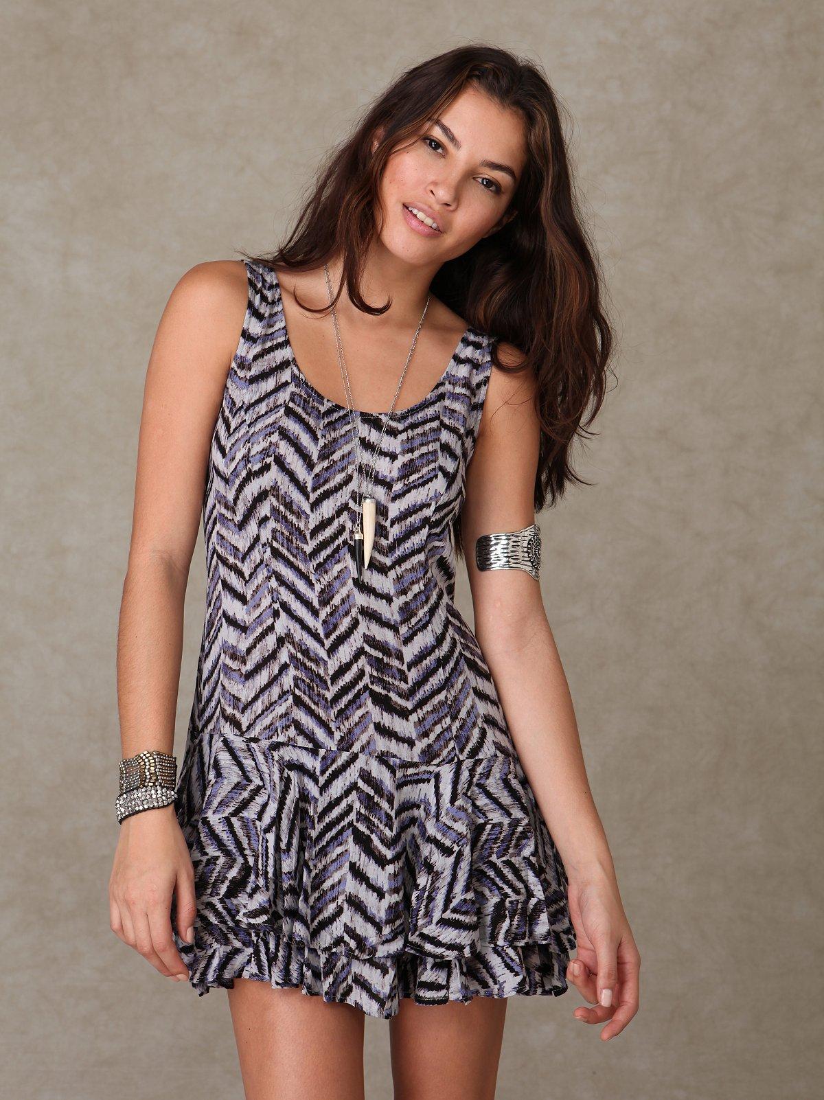 Geo Shapeless Dress
