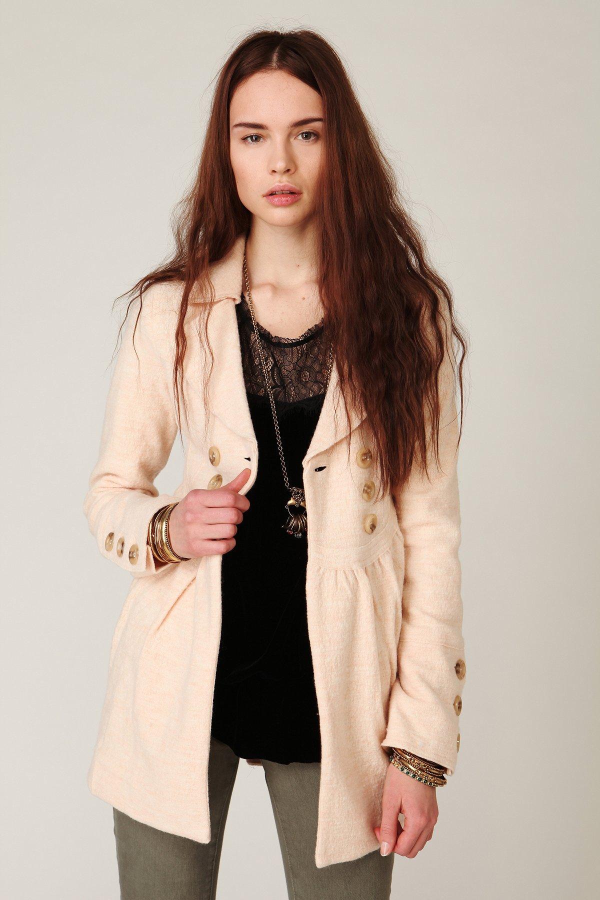 Waisted Madeline Coat
