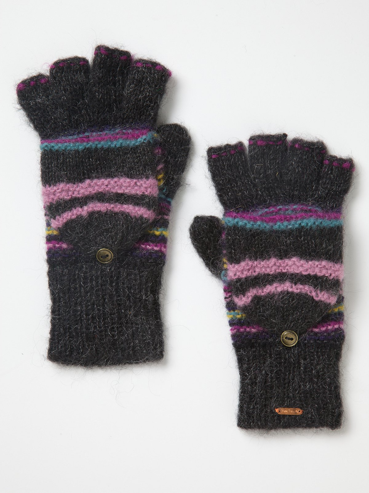 Magic Stripe Hoodie Glove