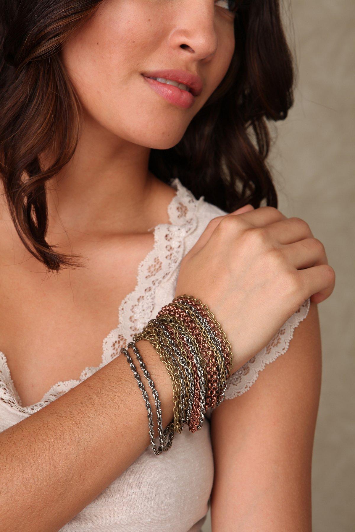 Many Chains Bracelet