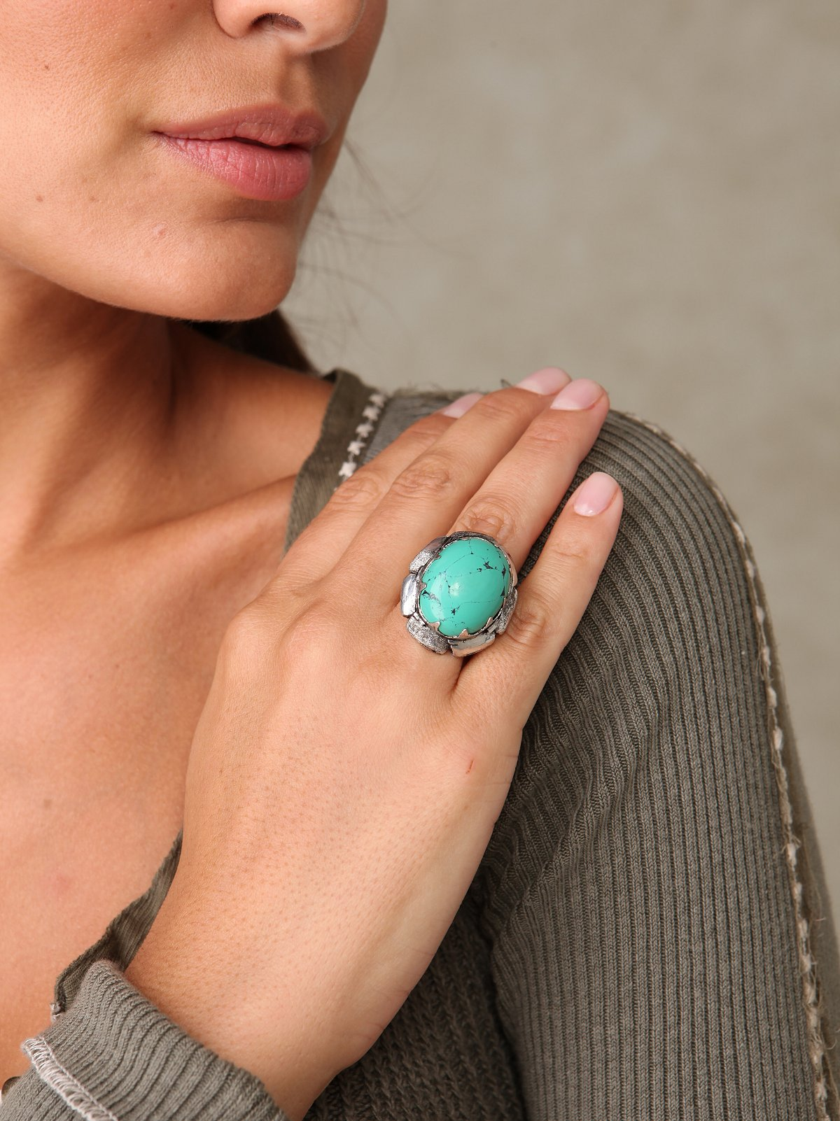 Earth Stone Ring
