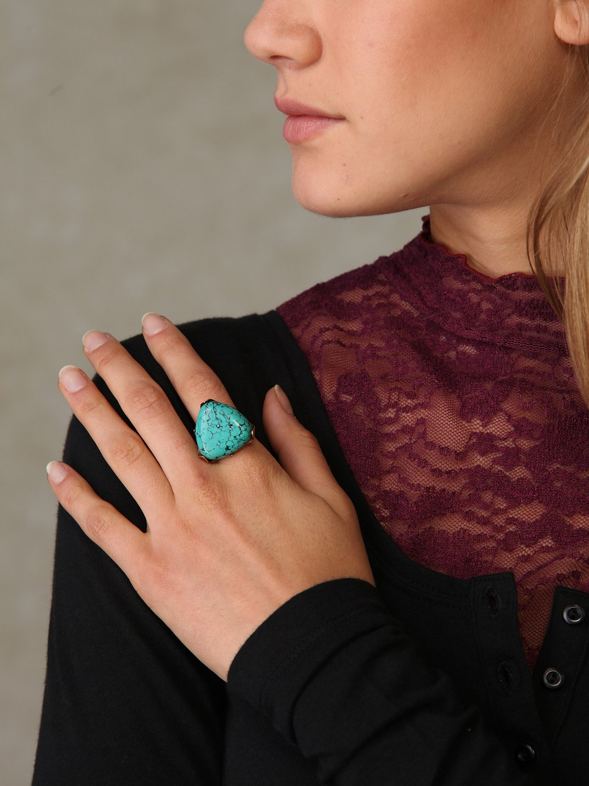 Turquoise Indian Ring