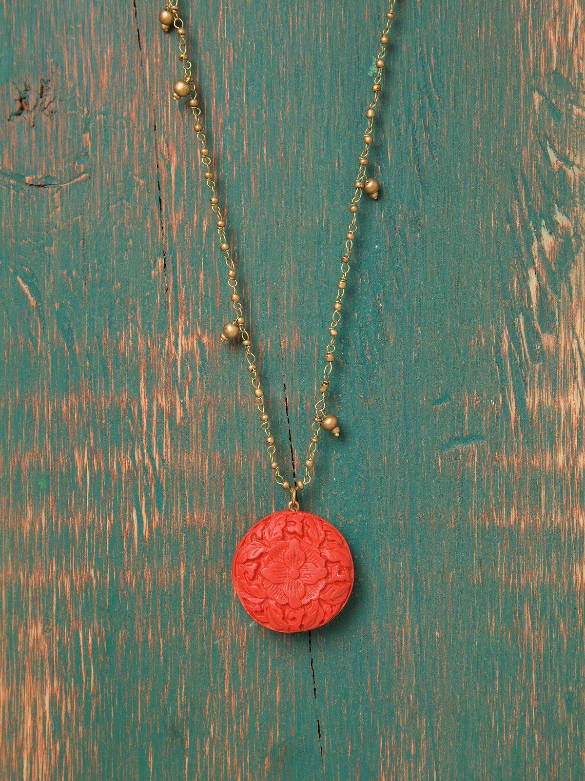 Zen Engraved Pendant