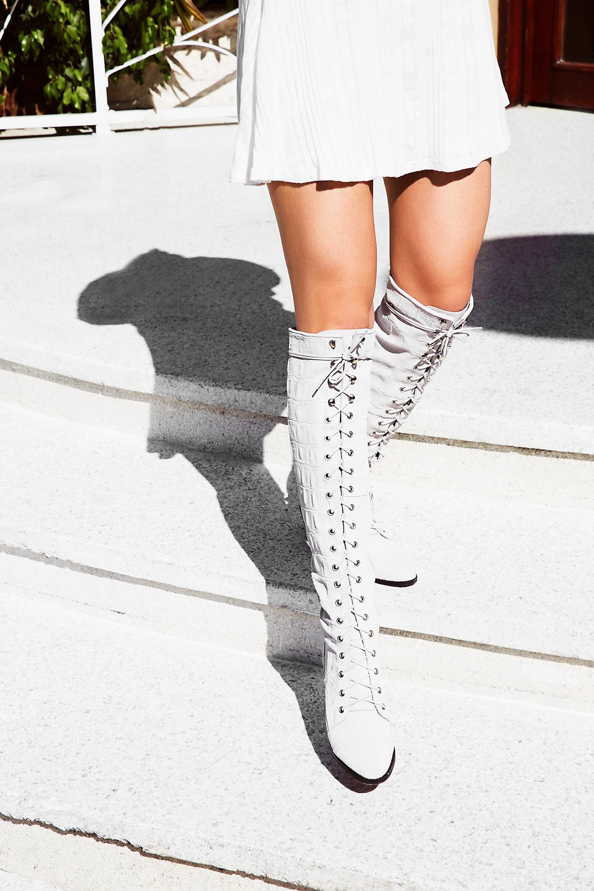 Jeffrey Campbell x Free People Joe Lace Up Boot at Free People ...